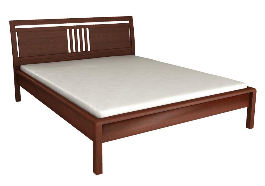 Łóżko z litego drewna SIENA